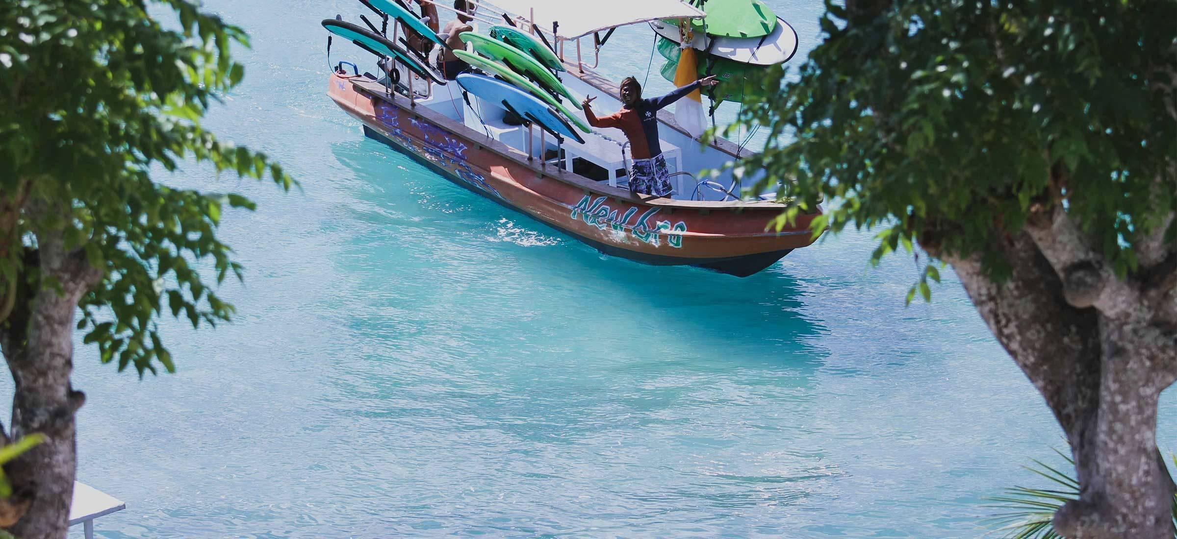 Surf Boat trips Bali